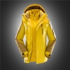 women yellowfashion water proof Jacket outdoor jacket