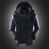 men blackfashion water proof Jacket outdoor jacket