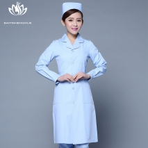 fashion medical care health center nurse coat hospital uniform
