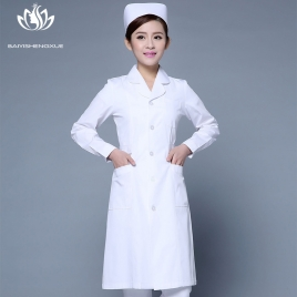 fashion medical care health center nurse women doctor coat jacket