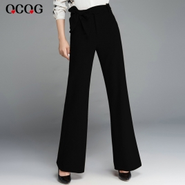 Korea design office business work pant women trousers