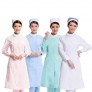 long sleeve round collar hairdressing drugstore baby care uniform