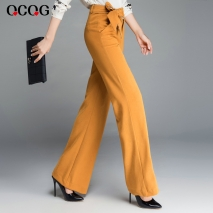 Korea design casual fashion lady girl flare pant
