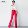 rosecandy color women pant jeans flare pant