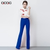Sapphirefashion  Asian Design women pencil pant jeans flare pant