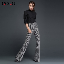2015 Europe fashion personality red elephant knee sexy young lady jeans pant
