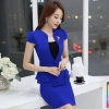 SapphireVogue cute young women office work career dressy skirt suit pant suit