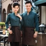 high quality hotel waiter uniforms shirt women men wait staff uniform