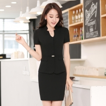 short sleeve business women uniform women skirt suits