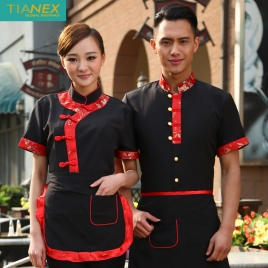 Tang suit style waiter coat uniform