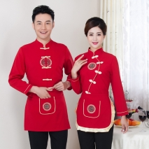 high quality women men shirt design uniform