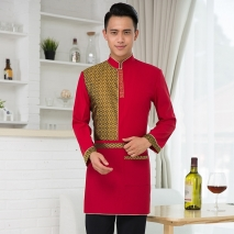 fashion coffee bar restaurant summer uniform shirt