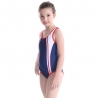 color 1upgrade child swimwear girl swimming  training suit