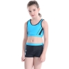 color 8upgrade child swimwear girl swimming  training suit