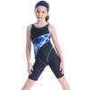 color 13upgrade child swimwear girl swimming  training suit
