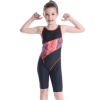 color 14upgrade child swimwear girl swimming  training suit
