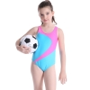 color 11colorful halter one-piece girl bikini swimwear