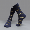 color 1casual moustache printing cotton  socks