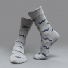 color 4casual moustache printing cotton  socks