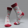 color 5casual moustache printing cotton  socks