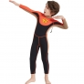 long sleeve anti UV x-manta boy children  wetsuit swimming suit