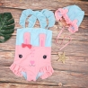 color 1lovely baby rabbit kid girl swimwear