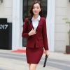 elegant beauty autumn Korea work suits pant blouse