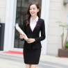 Blackelegant beauty Korea lady work suits reception uniform