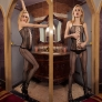 Europe America fashion sexy large size fishnet body stocking