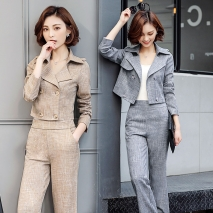 fashion casual pant  suits  office work wear