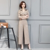 Blackfashion casual pant  suits  office work wear