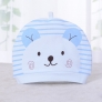 cute bear print newborn infant hat