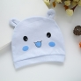 cute cotton dual ears newborn infant hat
