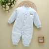 color 1high quality cotton thicken newborn clothes infant rompers
