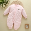 color 2high quality cotton thicken newborn clothes infant rompers