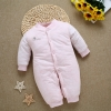 color 5winter warm cute newborn clothes infant rompers