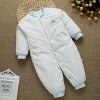 color 8high quality cotton thicken newborn clothes infant rompers