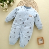 color 10high quality cotton thicken newborn clothes infant rompers
