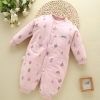 color 11high quality cotton thicken newborn clothes infant rompers