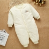 color 17high quality cotton thicken newborn clothes infant rompers