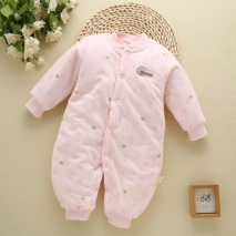 cotton warm cute newborn rompers baby clothes