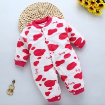 high quality cotton Camouflage printing thicken infant rompers clothes