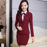 vintage grace high grade female worker uniform career suits