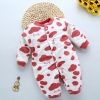 color 23high quality cotton Camouflage printing thicken infant rompers clothes
