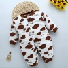 color 24high quality cotton Camouflage printing thicken infant rompers clothes