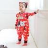 color 2cartoon printing lion baby romper kid clothes