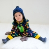 color 3cartoon tiger printing little baby romper kid clothes