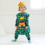 cartoon printing lion baby romper kid clothes