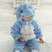 new carton Elephant little kid romper