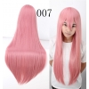 color 7multi colors cos wigs cosplay cartoon girl wigs